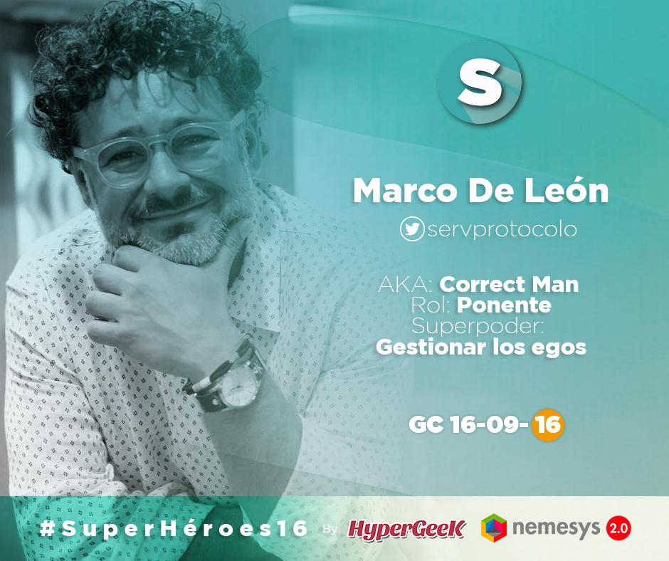 Marco De León